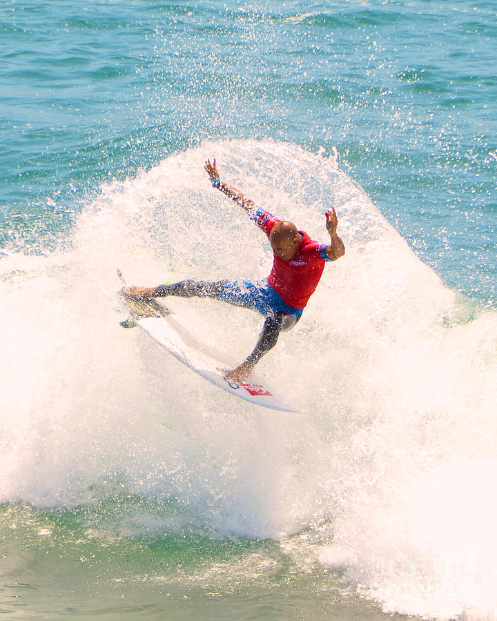 Kelly Slater Us Open Of Surfing 2012   2 Photograph