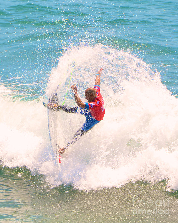 Kelly Slater Us Open Of Surfing 2012    5 Photograph