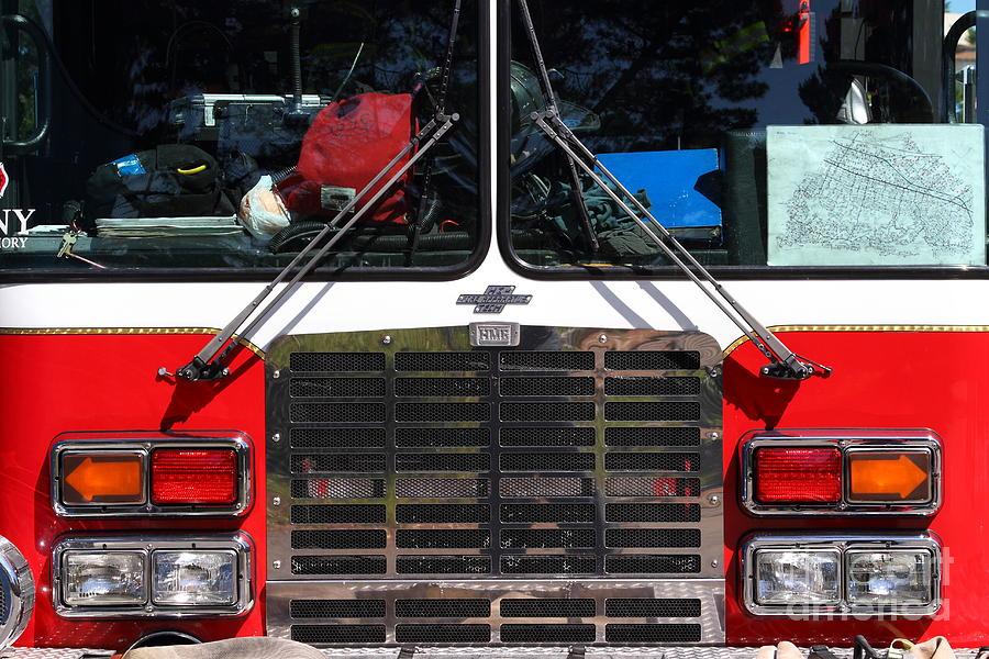 Kensington Fire District Fire Engine . 7d15861 Photograph