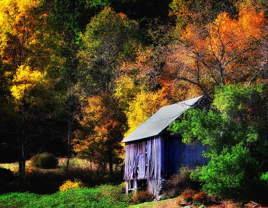Kent Hollow II - New England Rustic Barn Photograph
