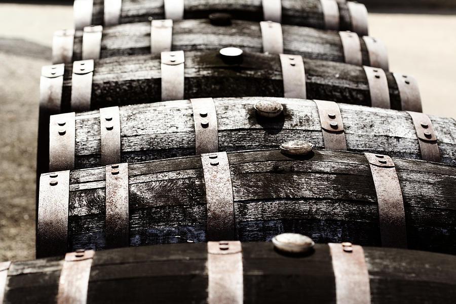 Kentucky Bourbon Barrels Photograph