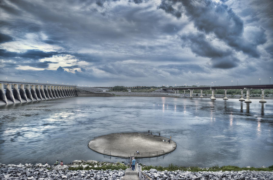 Kentucky Dam Dusk Photograph  - Kentucky Dam Dusk Fine Art Print