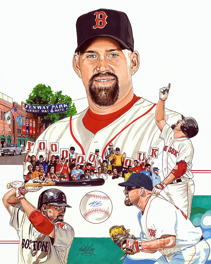 Kevin Youkilis Drawing
