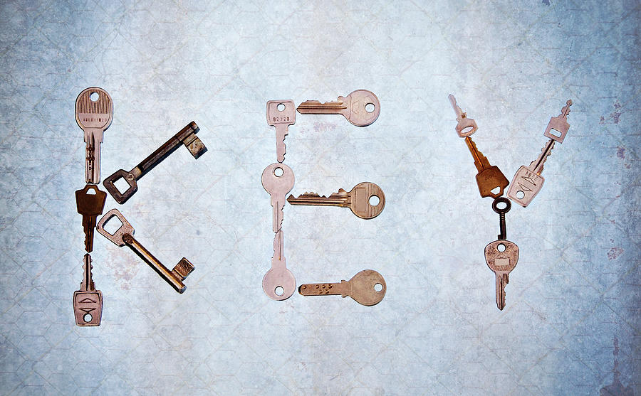 Key Creation Photograph  - Key Creation Fine Art Print