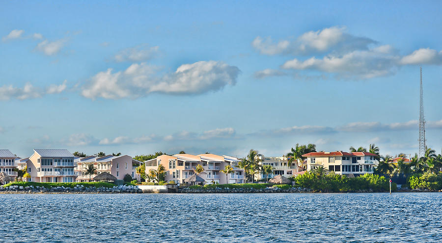 Key Largo Houses Photograph