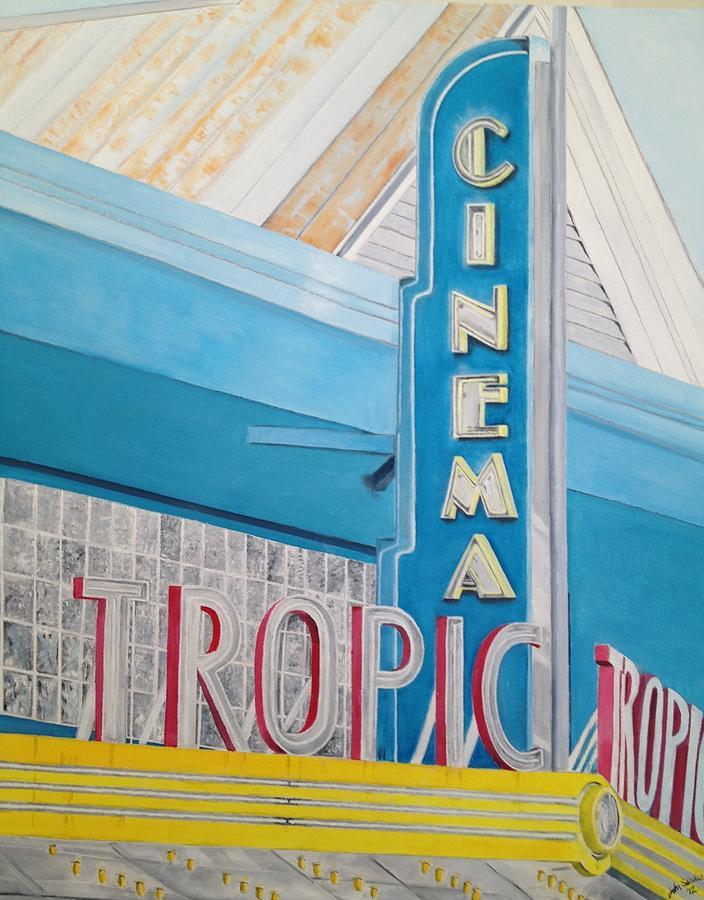 Key West - Tropic Cinema Painting
