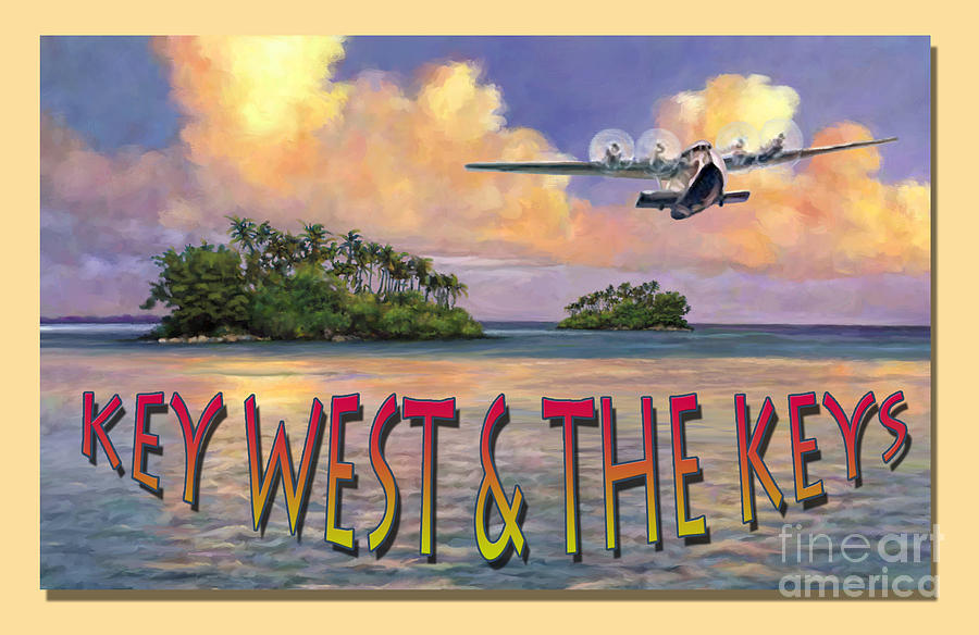 Key West Air Force Painting