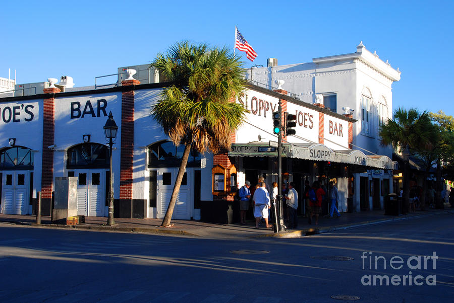 Key West Bar Sloppy Joes Photograph  - Key West Bar Sloppy Joes Fine Art Print