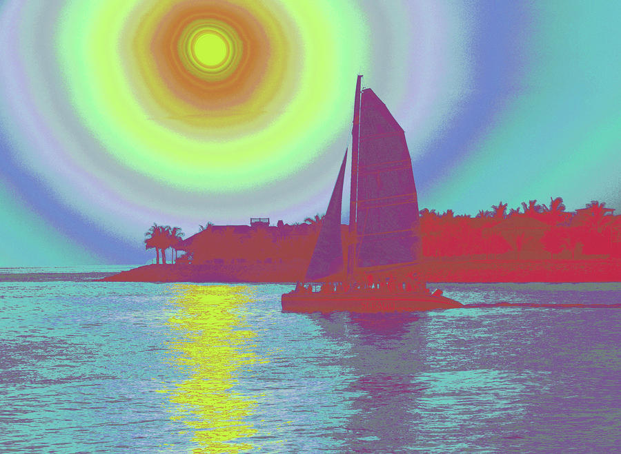 Key West Sun Photograph  - Key West Sun Fine Art Print