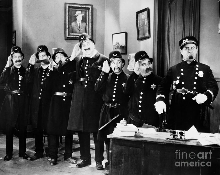 Keystone Cops Photograph  - Keystone Cops Fine Art Print