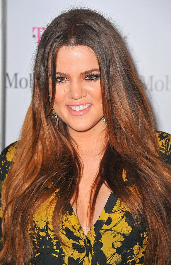 Khloe Kardashian At Arrivals Photograph
