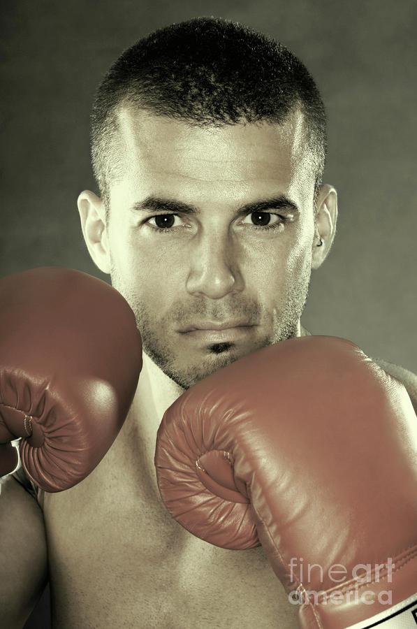 Kickboxer Photograph