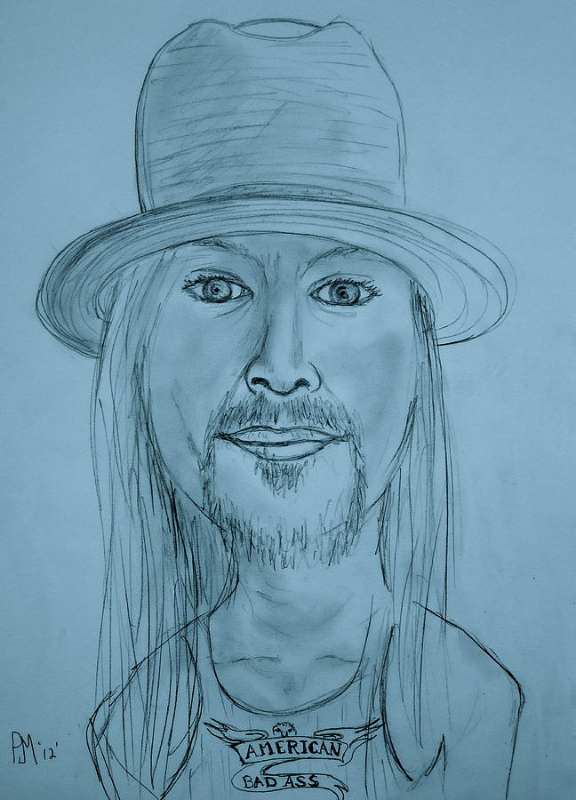 Kid Rock Drawing
