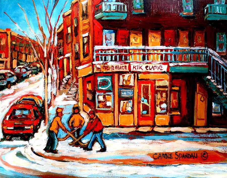 Kik Cola Depanneur Painting