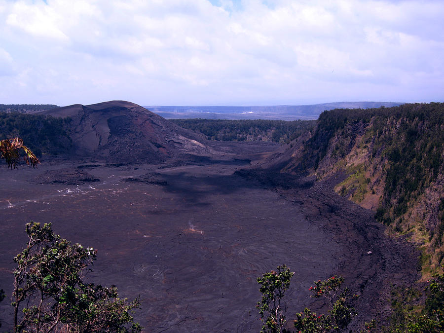 Kilauea Volcano Hawaii Photograph