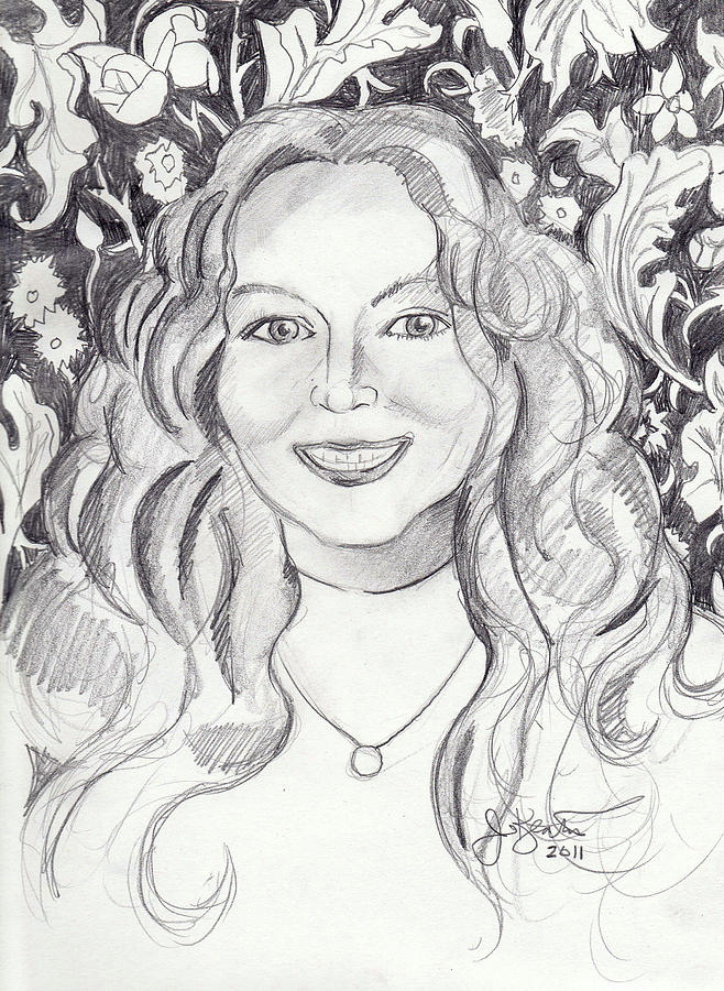 Kimberly Dupree Drawing  - Kimberly Dupree Fine Art Print