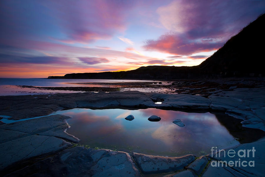 Kimmeridge Colours Photograph  - Kimmeridge Colours Fine Art Print