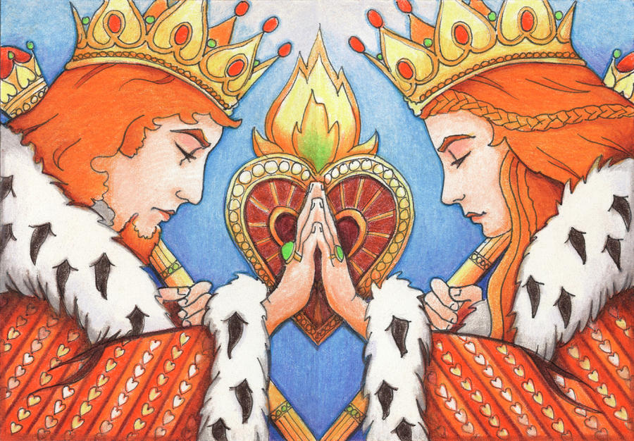 Medita tú que pasas... King-and-queen-of-hearts-amy-s-turner