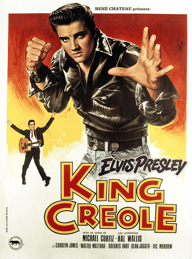King Creole, Elvis Presley, 1958 Photograph
