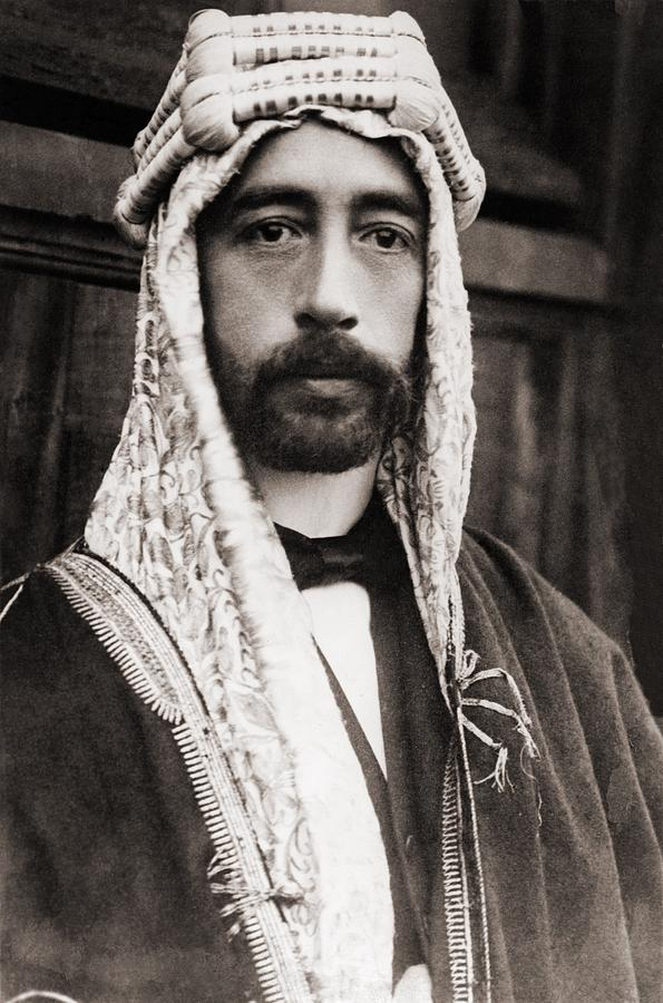 History Photograph - King Faisal Faysal Of Iraq 1885� by Everett