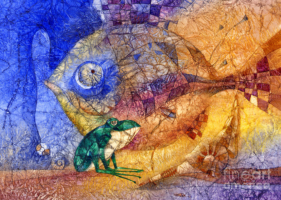 King-fish Painting  - King-fish Fine Art Print