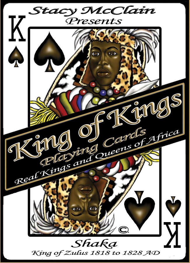 King Of Kings Playing Cards Digital Art