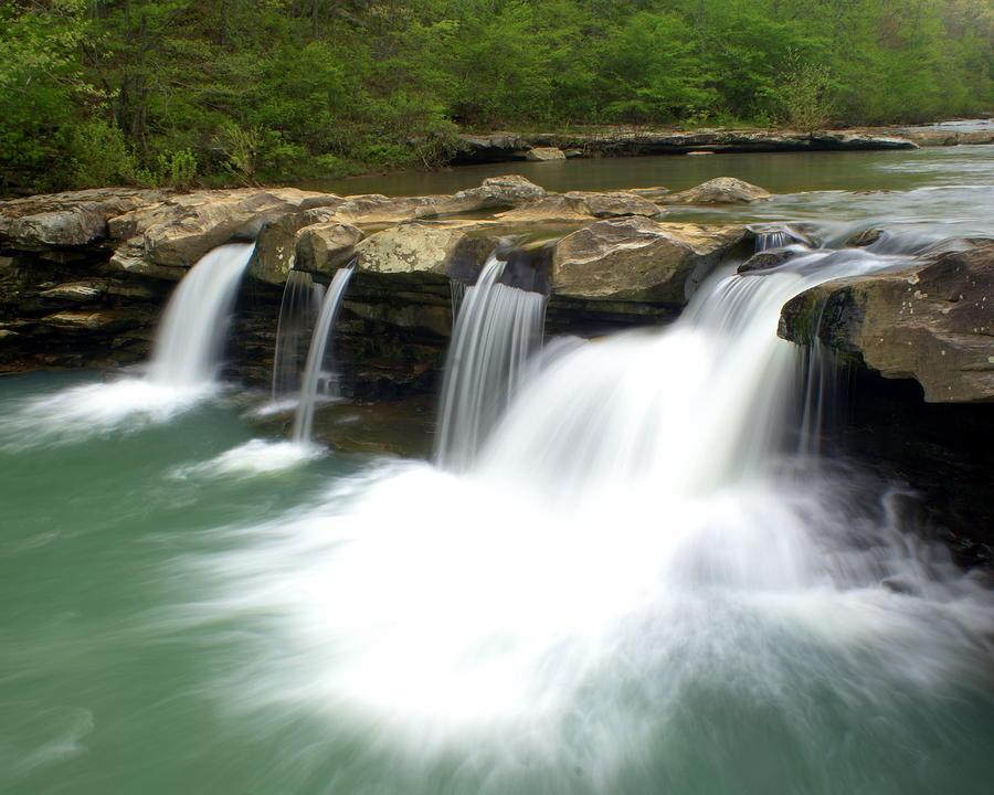 King River Falls Photograph
