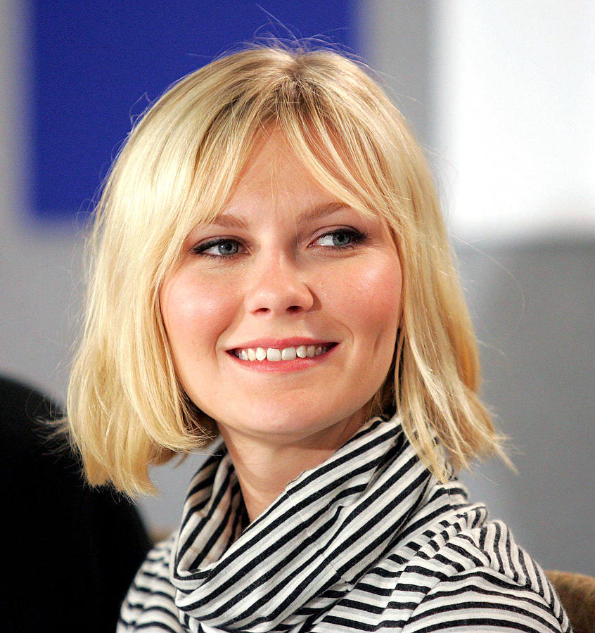 Kirsten Dunst At The Press Conference Photograph  - Kirsten Dunst At The Press Conference Fine Art Print