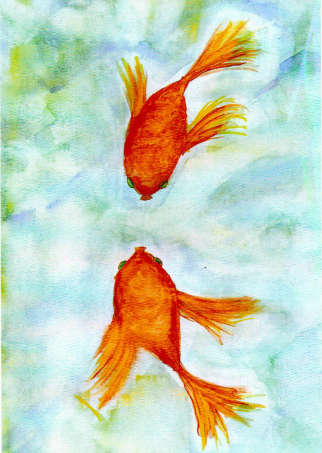 Kissy fish by susan hendrich for Susan s fish and chips