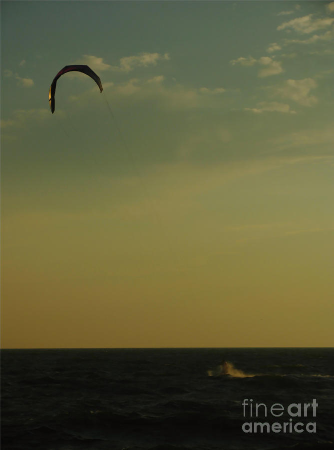 Kite Surfer Photograph