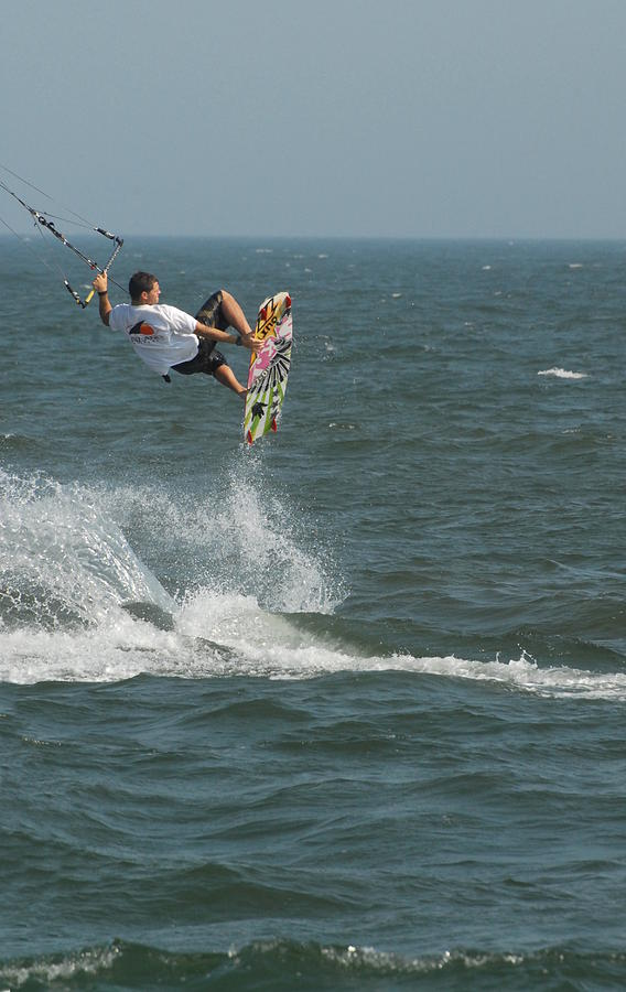 Kite Surfing 8 Photograph