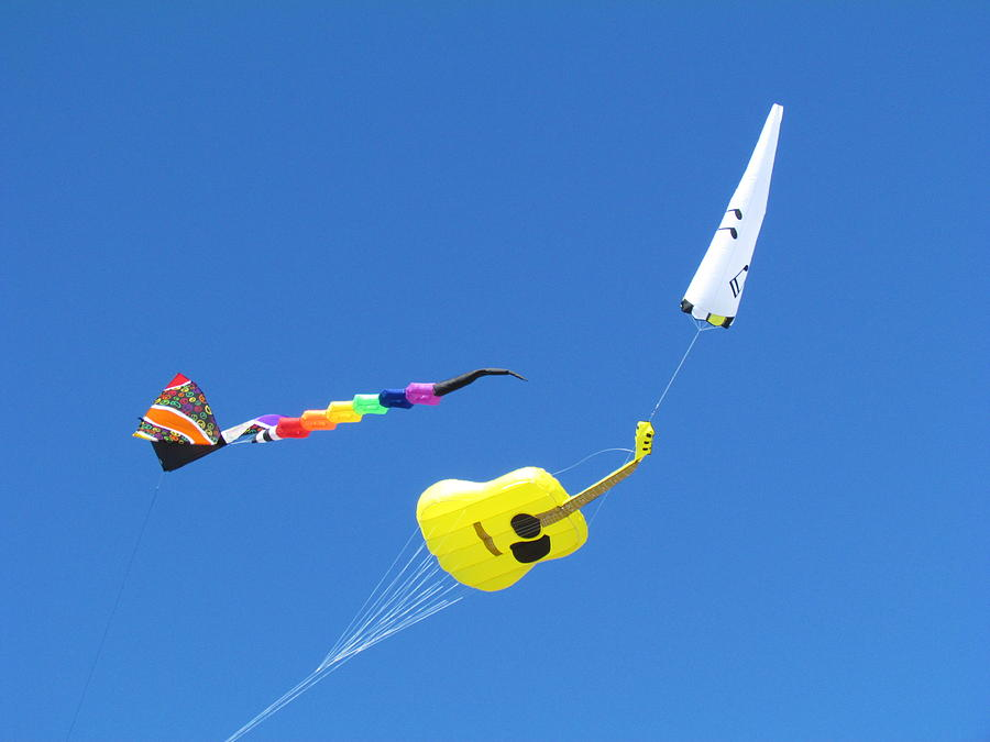Kite.s Photograph - Kites by Joyce Woodhouse