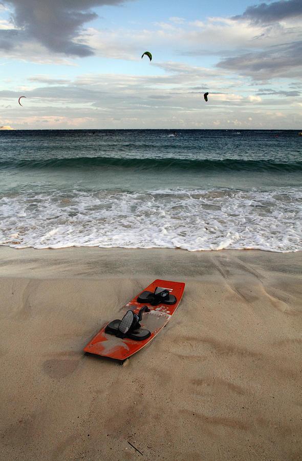 Kitesurfing Photograph