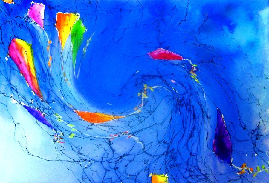 Kitewave Painting