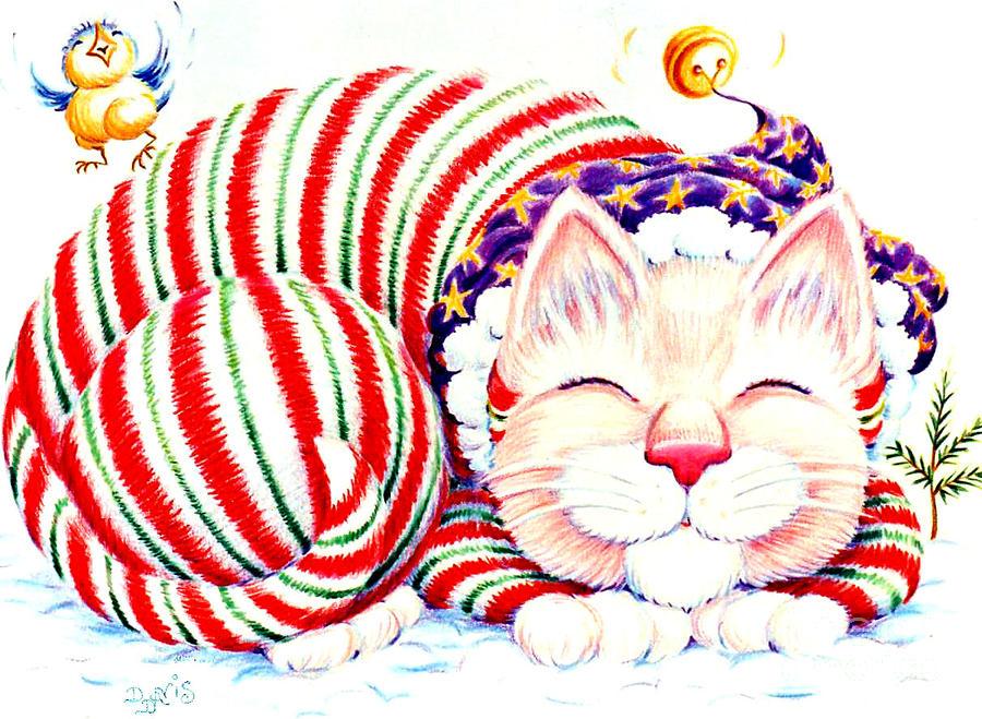 Kitty Klaus Drawing