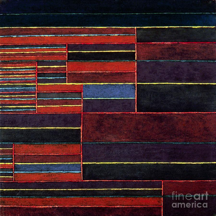 Klee: Six Thresholds, 1929 Photograph