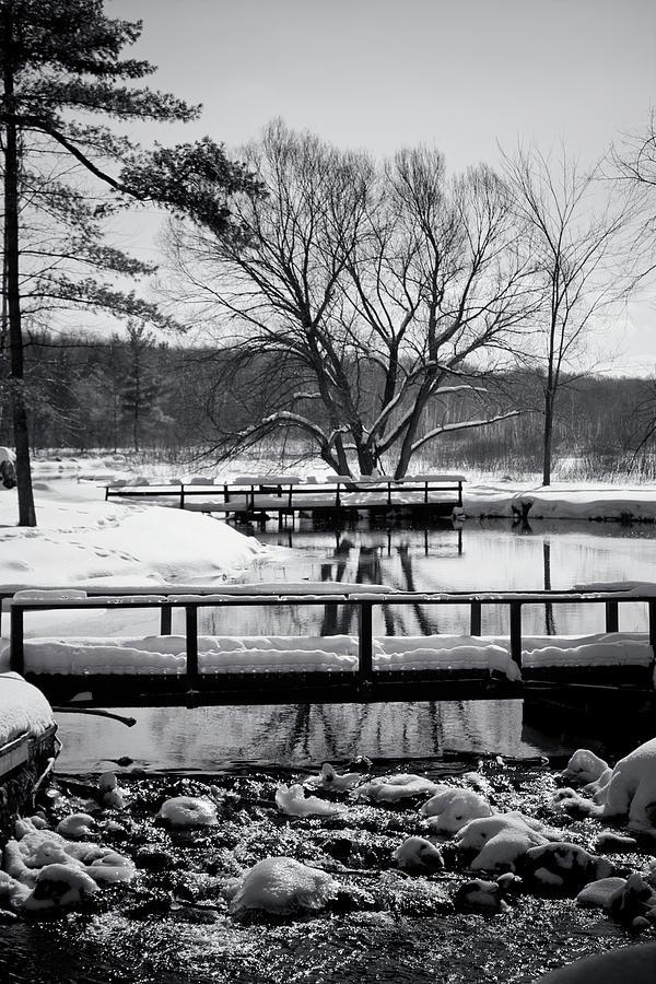 Knapp Creek At Seven Pines Lodge Photograph