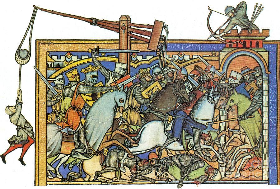 Knights Templar 13th Century Photograph