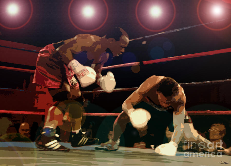 Knockdown Painting  - Knockdown Fine Art Print