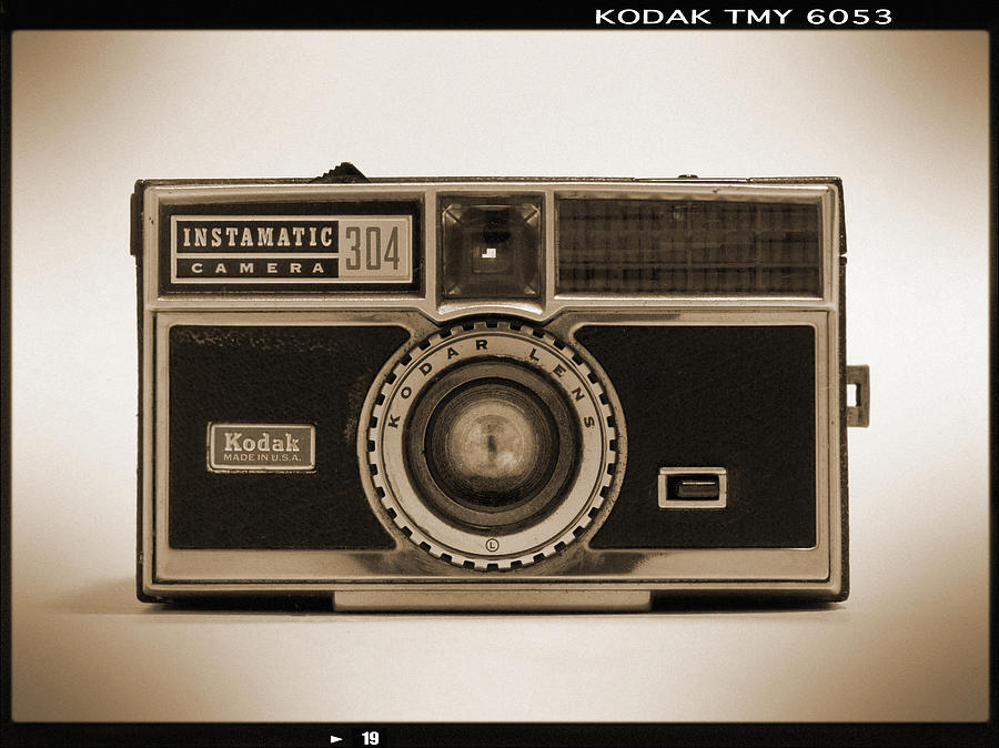 Kodak Instamatic Camera Photograph