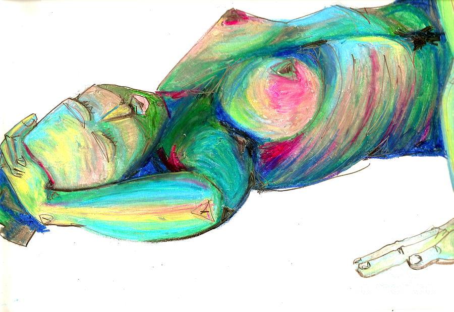 Koerperstudie3 Painting