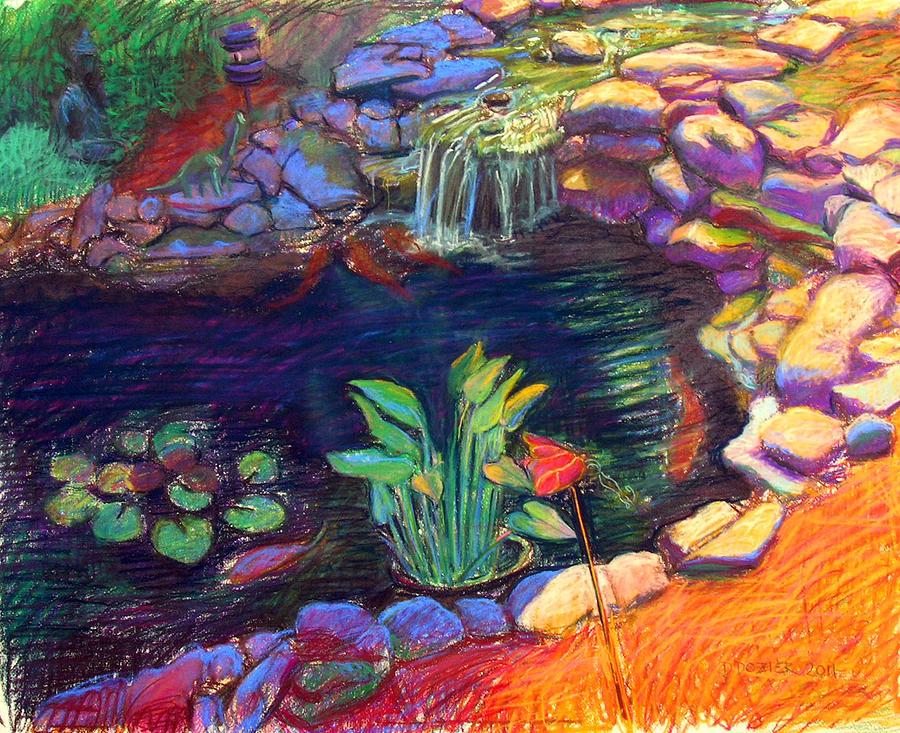 Koi Pond By David Dozier