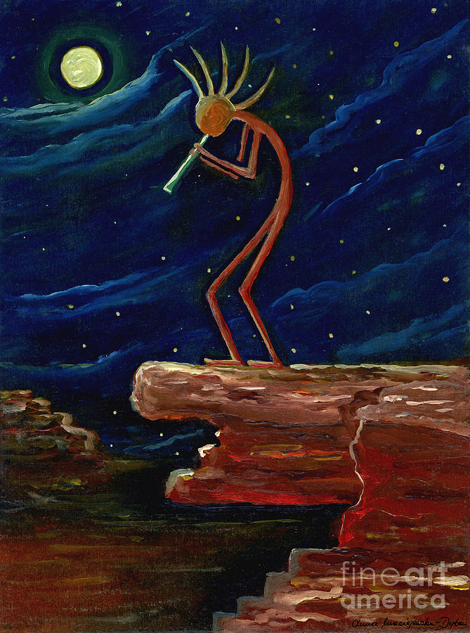 Kokopelli Painting