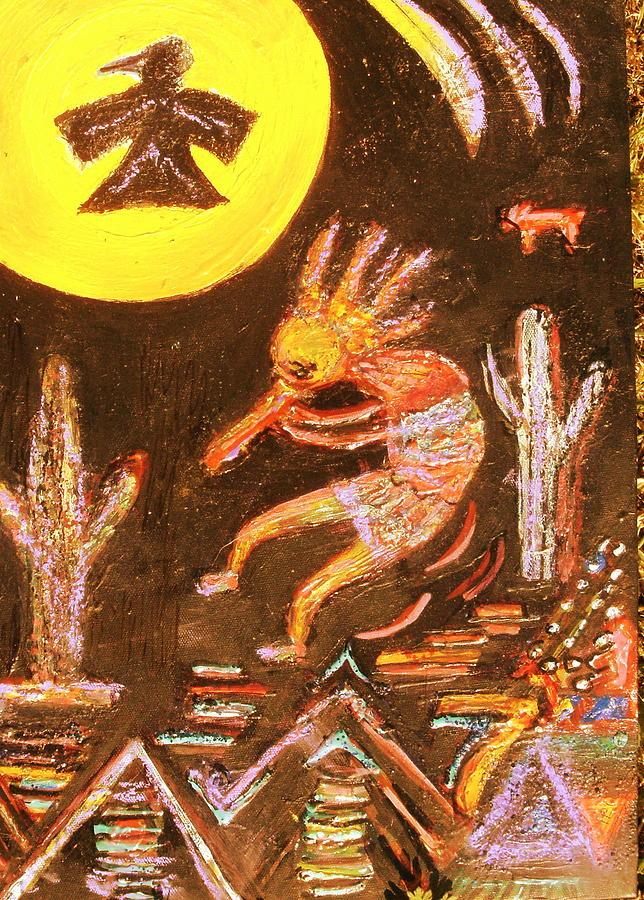 Kokopelli Jig Painting