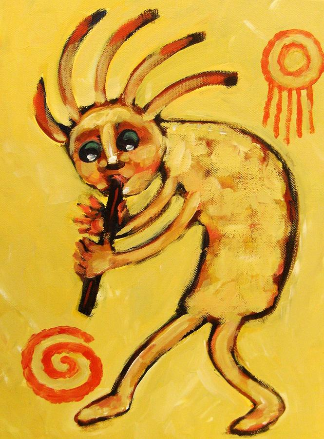 Kokopelli Watches Painting