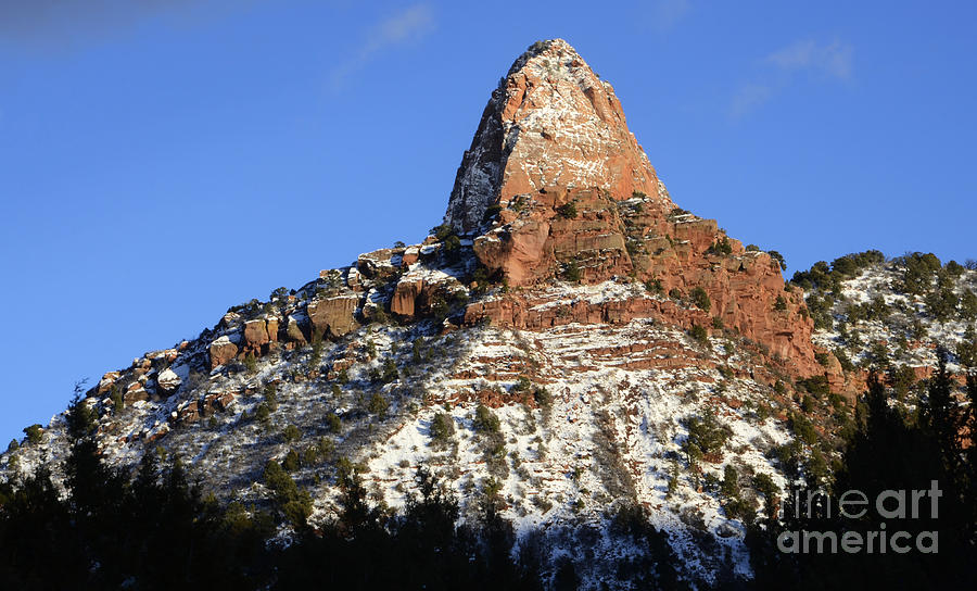 Kolob Photograph - Kolob Canyon Utah by Bob Christopher