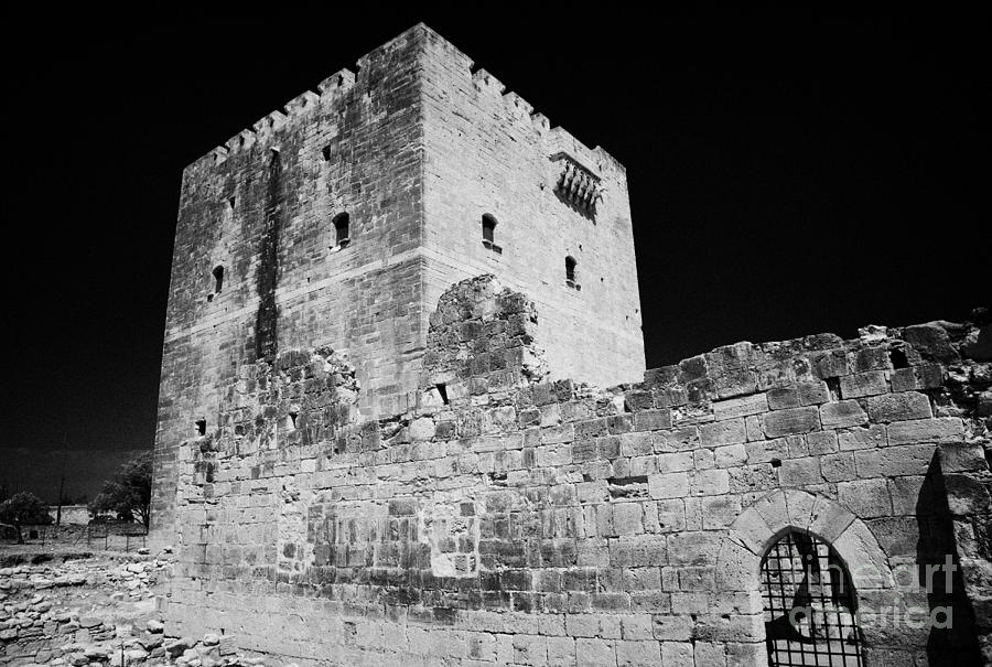 Kolossi Castle Republic Of Cyprus Photograph  - Kolossi Castle Republic Of Cyprus Fine Art Print