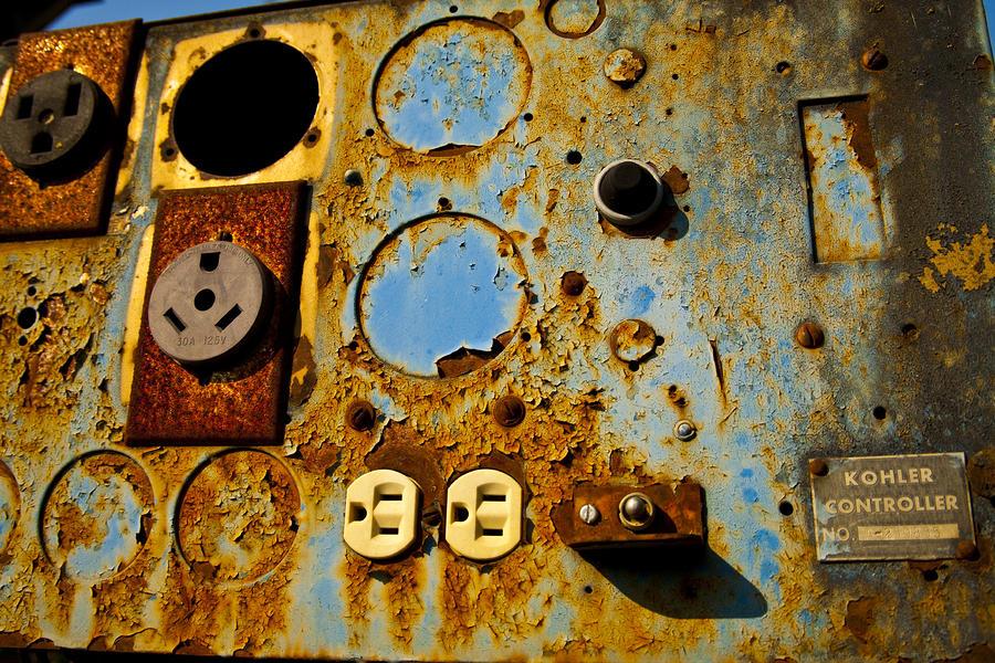 Kontroller Rust And Metal Series Photograph