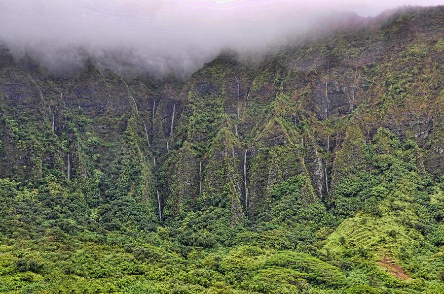 Koolau Waterfalls Photograph
