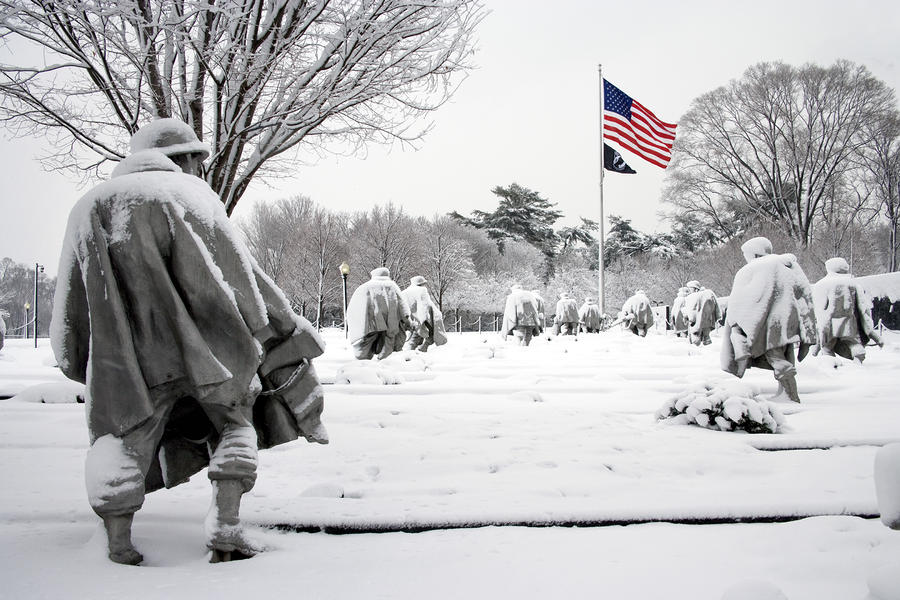 Korean War Memorial Photograph  - Korean War Memorial Fine Art Print